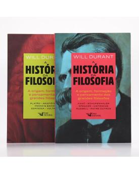 Kit 2 Livros   A História da Filosofia   Will Durant