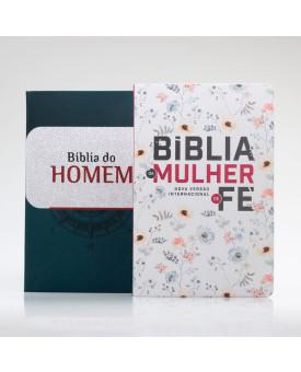 Kit 2 Bíblias | Casal de Fé | Edição 1