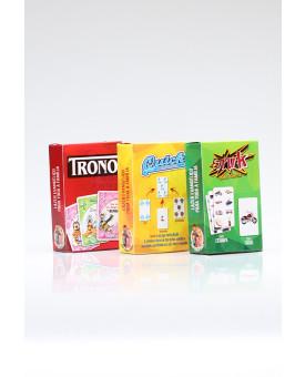 Kit 3 jogos | Quick Card Game + Quem Sou eu? | Faruk Card Game + Gospel Quiz | Trono + Perguntas e Resposta da Bíblicas