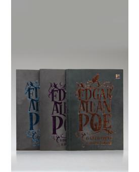 Kit 3 Livros | Contos | Edgar Allan Poe | Pé da Letra