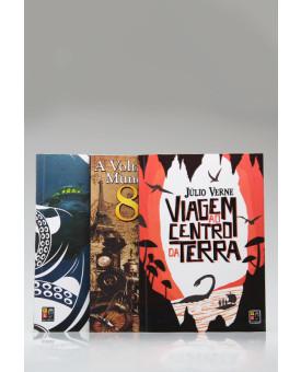 Kit 3 Livros | Júlio Verne | Pé da Letra
