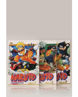 Kit 3 Livros | Naruto Gold | Masashi Kishimoto
