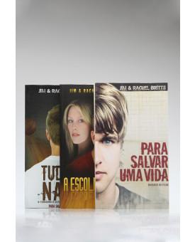 Kit 3 Livros | Para Salvar Uma Vida | Jim & Rachel Britts