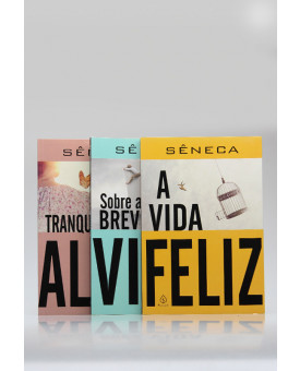 Kit 3 Livros | Sêneca