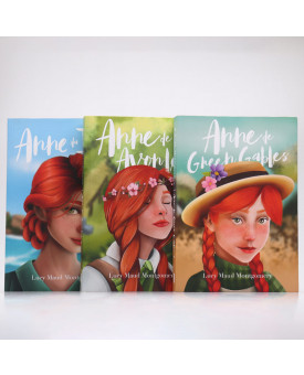 Kit 3 Livros | Anne Green Gables | Lucy Maud Montgomery