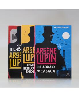 Kit 3 Livros | Arsène Lupin | Maurice Leblanc
