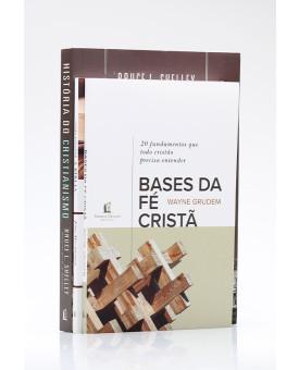 Kit 3 Livros | Bases da Fé Cristã