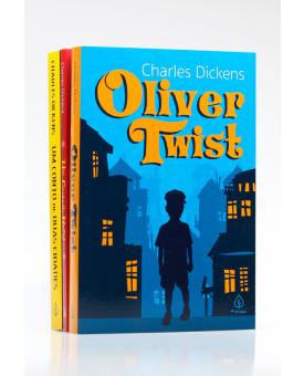 Kit 3 Livros | Obras Essenciais de Charles Dickens | Edição Especial