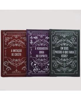 Kit 3 Livros | Clássicos da Literatura Cristã | Capa Dura