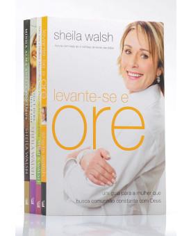Kit | 4 Livros | Minha Alma Anseia Por Ti | Sheila Walsh