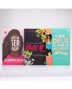 Kit 3 Livros   Feminilidade x Feminismo