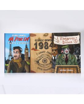 Kit 3 Livros | Obras Revolucionárias | George Orwell