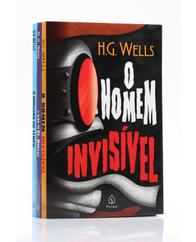 Kit 3 Livros | H. G. Wells