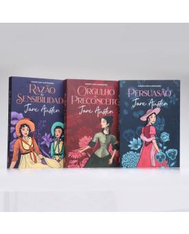 Kit 3 Livros | Jane Austen | Edição com Ilutrações
