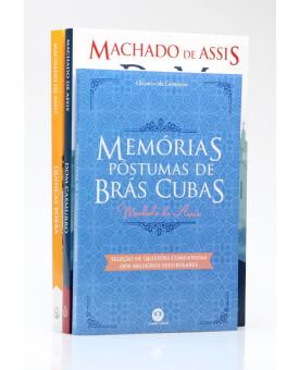 Kit 3 Livros   Realismo de Machado de Assis