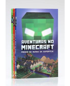 Kit 3 Livros | Minecraft | Edição I
