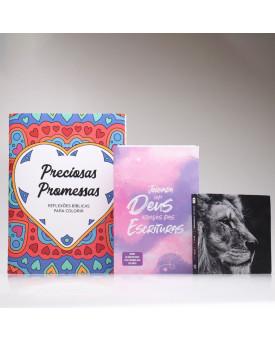 Kit Para Evangelismo | Promessas Sagradas | Aquarela