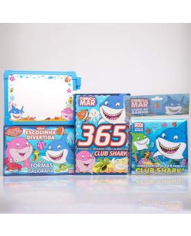 Kit 365 Atividades e Desenhos Para Colorir + Série Escolinha Divertida + Livro de Banho   Fundo do Mar