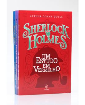Kit 3 Livros | Sherlock Holmes | Edição 1
