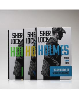 Kit 3 Livros | Sherlock Holmes | Capa Dura | Arthur Conan Doyle