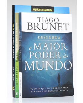 Kit 3 Livros | Tiago Brunet