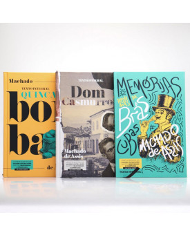Kit 3 Livros | Capa Dura | Machado de Assis