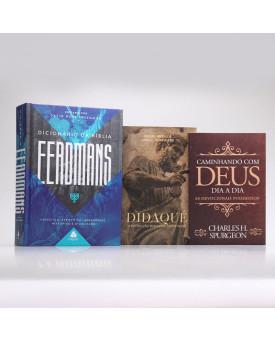 Kit Dicionário da Bíblia Eerdman + Grátis Devocional Spurgeon + Didaqué | Teologia Para Todos