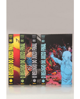 Kit 4 Livros | O Relógio do Juízo Final | Gary Frank e Geoff Johns