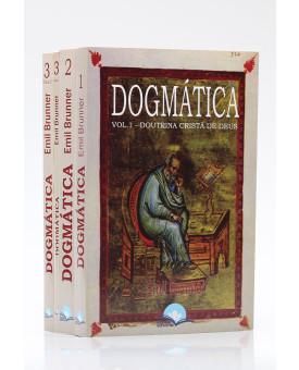 Kit 4 Livros | Dogmática Cristã | Emil Brunner