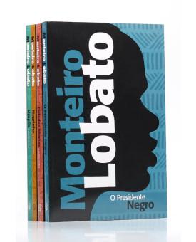 Kit 4 Livros | Monteiro Lobato