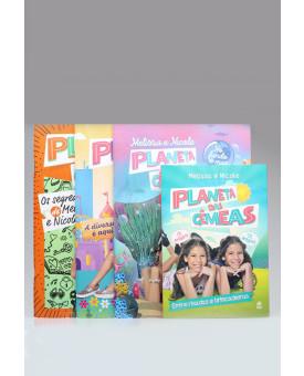 Kit 4 Livros | Planeta das Gêmeas | Melissa e Nicole
