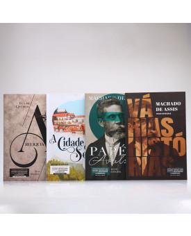 Kit 4 Livros | Machado de Assis e Eça de Queirós | Para Vestibular