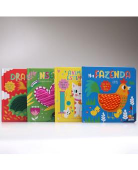 Kit 4 Livros | Na Ponta dos Dedos | Todolivro