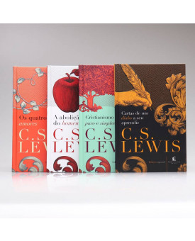Kit 4 Livros | Capa Dura | C. S. Lewis