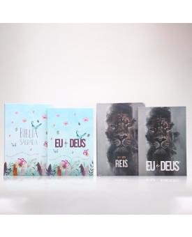 Kit Bíblias + Eu e Deus | Casal Unido por Deus | Rei dos Reis