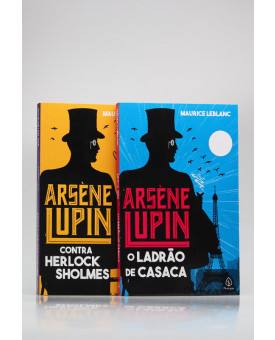 Kit 2 Livros | Arsène Lupin | Maurice Leblanc
