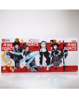 Kit 5 Livros | Fire Force | Atsushi Ohkubo