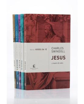 Kit 5 Livros | Heróis da Fé | Vol.1 |  Charles Swindoll