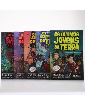 Kit 5 Livros | Os Últimos Jovens da Terra | Max Brallier
