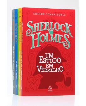 Kit 5 Livros | Sherlock Holmes | Arthur Conan Doyle
