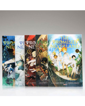 Kit 5 Livros | The Promised Neverland | Kaiu Shirai e Posuka Demizu