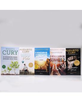 Kit 5 Livros | Melhores Best-Sellers | Augusto Cury