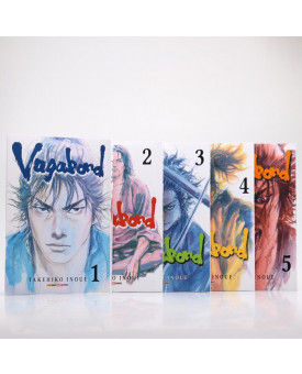 Kit 5 Livros | Vagabond | Takehiro Inoue