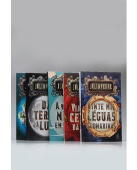 Kit 5 Livros | Júlio Verne