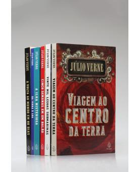 Kit 6 Livros | Júlio Verne