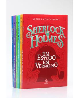 Kit 6 Livros | Sherlock Holmes | Arthur Conan Doyle