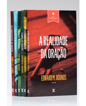 Kit 6 Livros | Vida de Oração | Edward M. Bounds