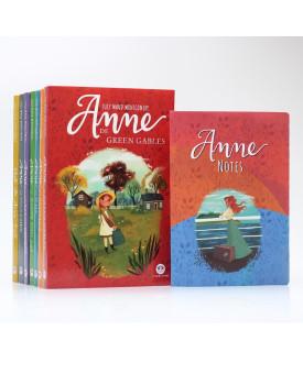 Kit 7 Livros | Anne de Green Gables | Lucy Maud Montgomery + Bloco de Anotações