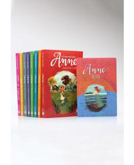 Kit 8 Livros | Anne de Green Gables | Lucy Maud Montgomery + Bloco de Anotações