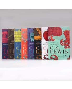 Kit 8 Livros | Capa Dura | C. S. Lewis